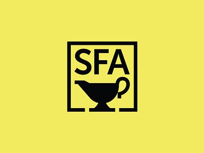 SFA Badge badge southernfoodways sfa gravy branding icon logo