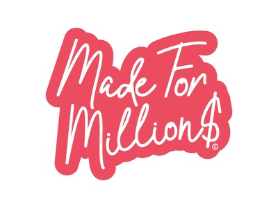 Made For Million$ Charm graphic design streetwear madeformillion$ type mikemerrilldesign charm