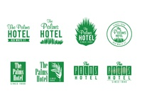The Palms Logo Options