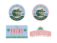 The Palms Logo Options | Batch 2