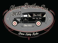 Cheney Bros Driver Safety Rodeo Shirt