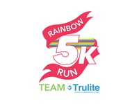 5k (Rainbow Run) Shirt Design