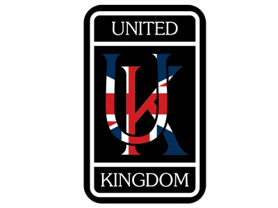 UK Playoff Sticker type diecut stickermule england flag print mikemerrilldesign unitedkingdom uk rollsroyce british sticker