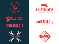 Cristello's Plumbing Logo Options