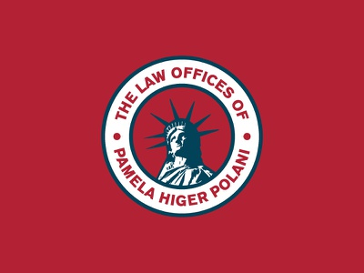 PHP Law Logo branding logo patriotic mikemerrilldesign america statue badge liberty law