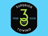 Superior Towing Badge