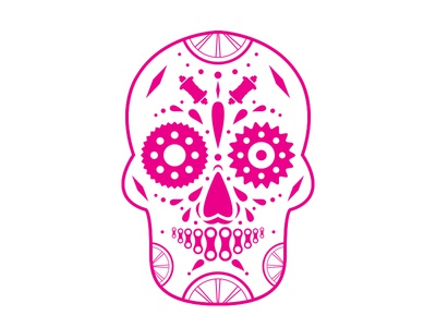 Republic Bike Sugar Skull