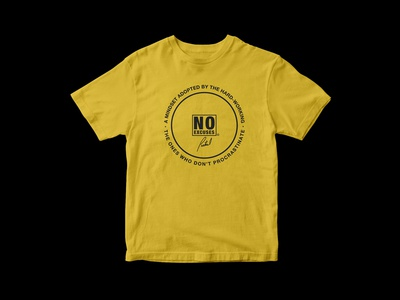 Partial Print - No Excuses Shirt