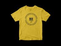 Partial Print - No Excuses Shirt