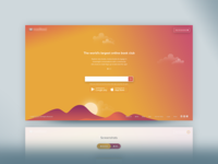 Coming Soon App : Landing Page