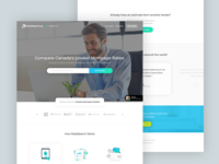 RateSearch : Landing Page