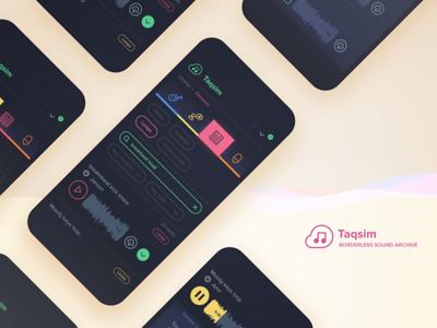 Taqsim - music samples catalog