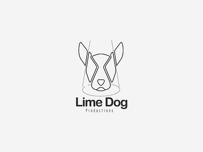 Lime Dog prodution. tv sibusisolukhele typekeed branding dog icon logo logodesign