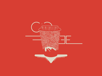 Coffee typogaphy type strong red nemisa design designers love coffee sibusisolukhele typekeed