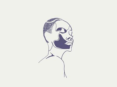 her/ sibusisolukhele design nemisa lukhele sibusiso typekeed girl doodle