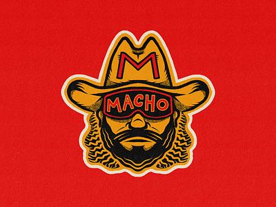 Ric Flair, Hulk Hogan & Macho Man Stickers truegritsupply texture sports wwf wwe cartoon illustration badge procreate character portrait sticker wrestler wrestling randy savage macho man hulk hulk hogan ric flair