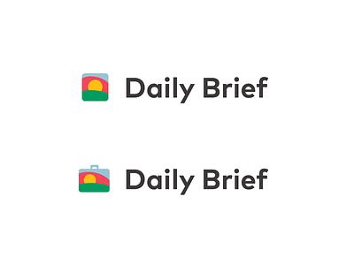 Sunrise / Brief Logo options client brand identity brand design branding logodesign logo dailylogochallenge daily brief briefcase sunrise