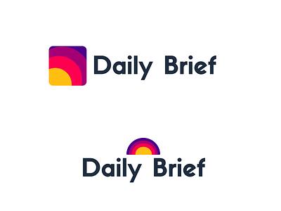 Sunrise Logo Concept 3 options concept bright colors sun sunrise branding daily colorful flat design flat brief design vector logo