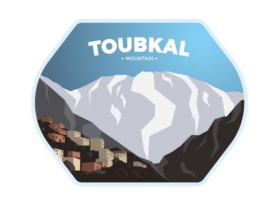 Toubkal Badge