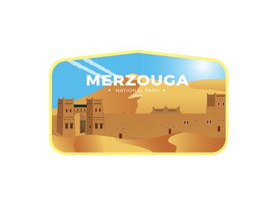 Morocco Merzouga Badge