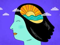 theSkimm: Coping with Anxiety photoshop art digital art digitalart photoshop people illustration