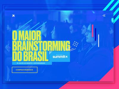 Gramado Summit 2019 - Website Design (UI/UX) motion design web ux design ui conference website ui design ux design