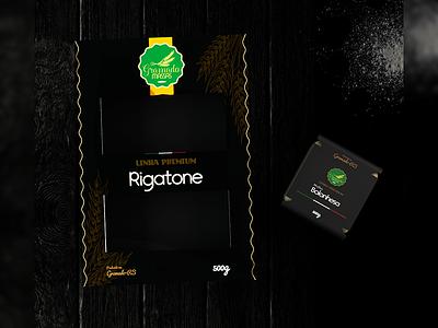 Gramado Massas - Package Design 3d model graphic classic design pasta design graphic design package package design