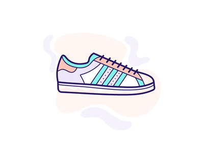 Adidas Superstar superstar illustration superstar icon adidas footwear footwear icon footwear illustration illustration shoes icon adidas shoes adidas superstar shoes illustration