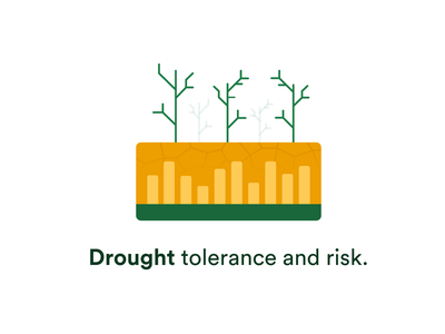 Croply - Drought Tolerance Illustration plant icon illustration drought icon farm illustration summer farming dry dry illustration farming illustration agriculture illustration farm wetness drought time drought illustration agriculture farming drought