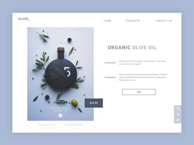 Olivus minimal ui olive