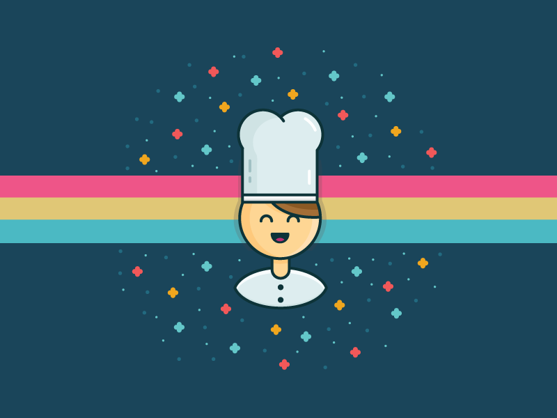 Happy Chef! by Parham Marandi