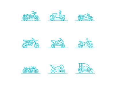 Bike Icons