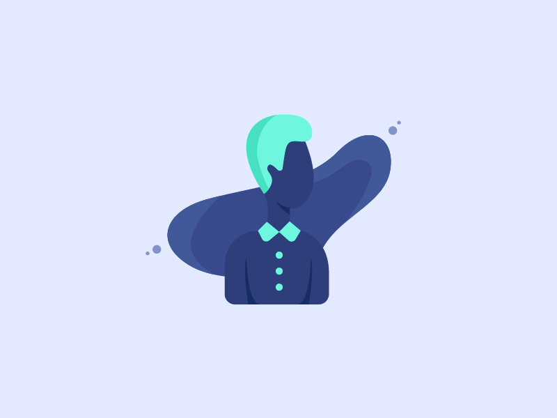 Male Character icon illustration character