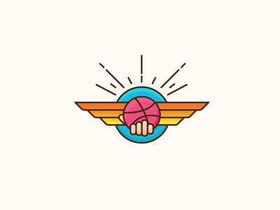 Dribbble is an Opportunity opportunity offer badge dribbble playoff sticker mule