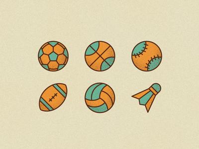 Ball Icons ball icon icon sport olympic baseball basketball football ball