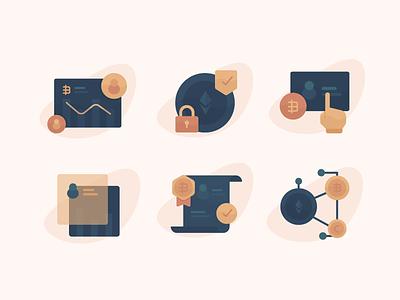 Crypto Icon cypto currency icon icon design ether bitcoin crypto