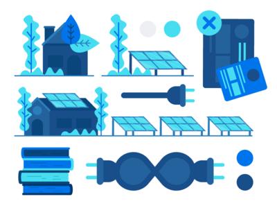 Solar Panel Drafts infinite power bills house plant tree solar system solar panel solar