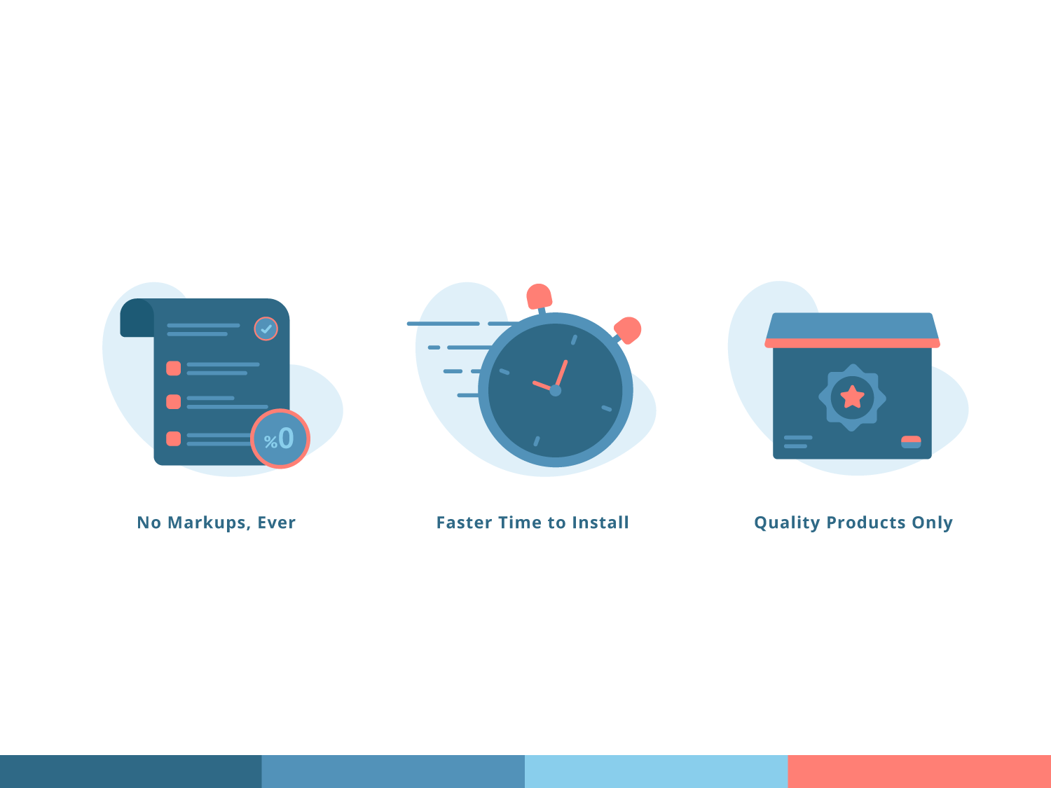 Builde illustration icon high quality quality delivery faster quick fast invoice markup