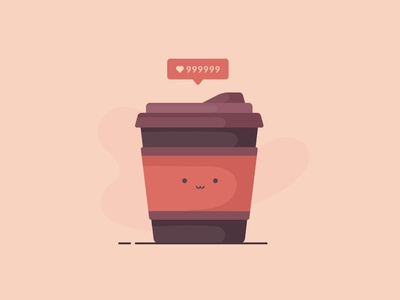 Cute Cup hot drink drink takeaway cup coffe cup morning coffee coffee