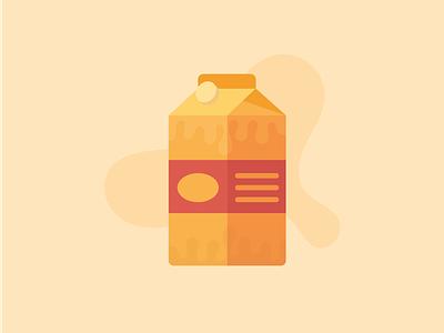Milk icon illustration bottle drink milk