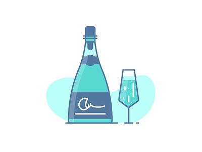 Champagne celebration nightlife bottle alcohol drink