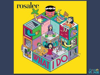 Rosalee What I Do Album Cover