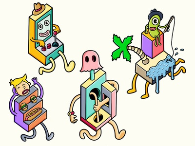 Isometric Characters