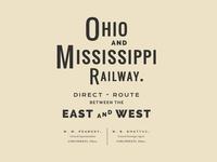 Ohio and Mississippi Railway