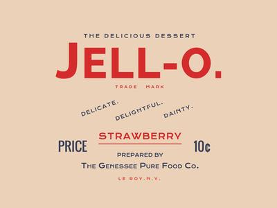 Jell-o.