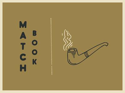 Match Book smoke gold matchbook matches