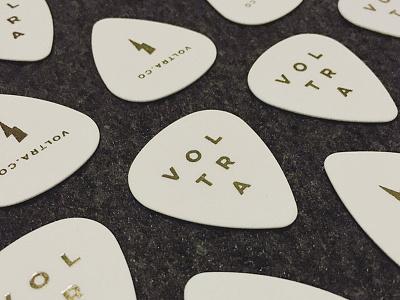 Voltra Picks gold foil picks guitar voltra