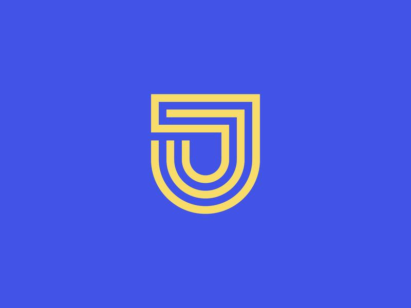 Letter J Logo - Daily Logo Challenge - Day 4! graphics design art vector illustrator adobe logodesign dailylogo dailylogochallenge