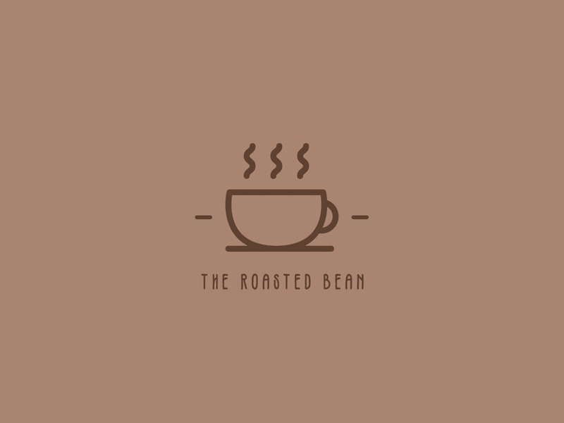 Coffee Shop Logo - Daily Logo Challenge - Day 6! adobe illustrator vectorart vector coffee coffee cup logo coffeeshop dailylogo dailylogochallenge dailylogodesign