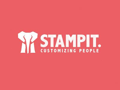 Stampit Logo trunk customization stampit stamp elephant